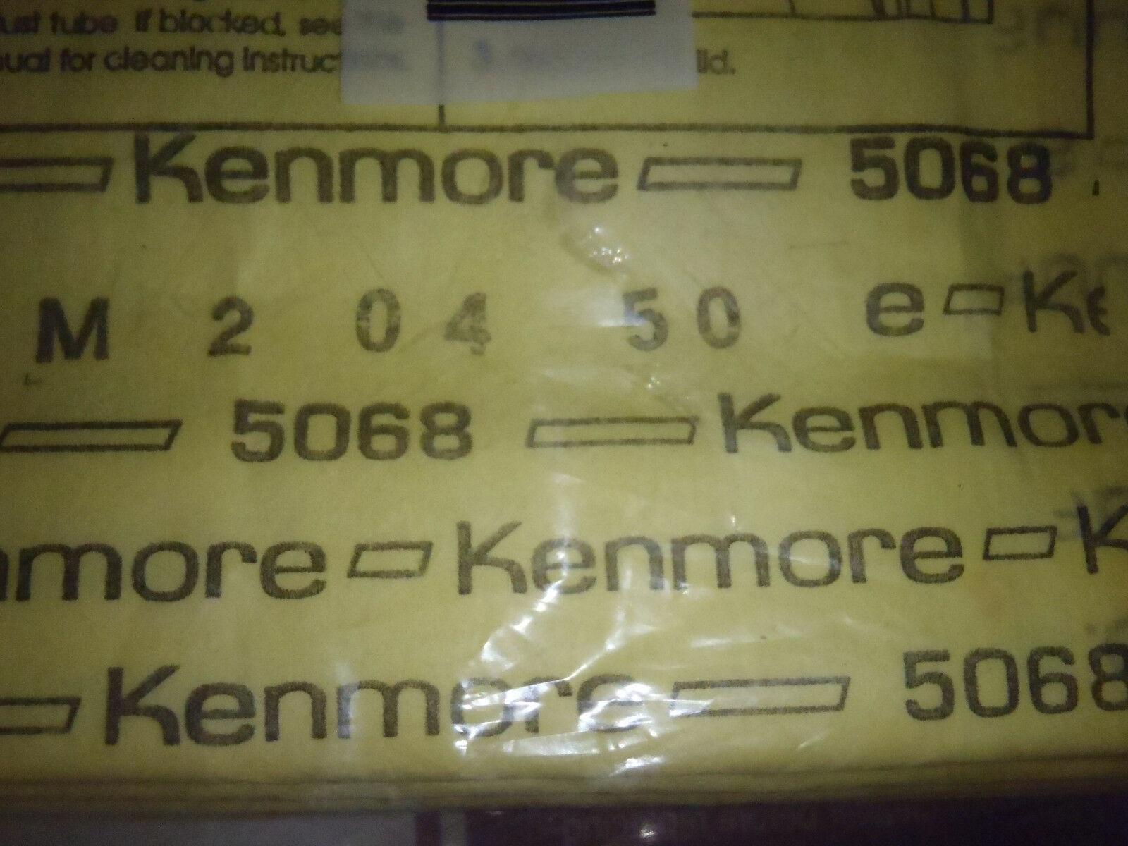 8 NEW ORIGINAL SEARS KENMORE VACUUM CLEANER BAGS 20-50688 image 4
