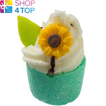 SUNFLOWER FIELDS BATH MALLOW BOMB COSMETICS LITSEA CUBEBA HANDMADE NATUR... - $4.05