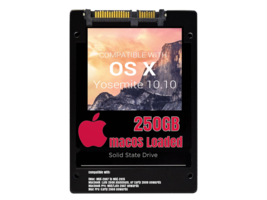 macOS Mac OS X 10.10 Yosemite Preloaded on 250GB Solid State Drive - $69.99
