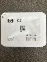 HP 02 Black Ink Cartridge, Standard, HP C8721W, Sealed - $9.50