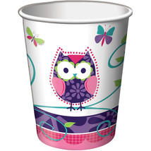 9 oz Hot/Cold Paper Cups Owl Pal Birthday, Case of 96 - $52.59