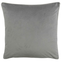 """2 X PLAIN SOFT VELVET YELLOW SILVER PIPED 22/""""-55CM CUSHION COVERS"""