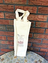 So Bordeaux Grand Hotel Wine Bag Holder Chic Carrier Reusable Tote New U... - $4.90