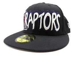 NWT New Era NBA Toronto Raptors Basketball Fitted Hat Adult Size 7 1/4 1... - $32.62