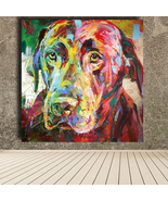 Labrador Retriever Wall Decor On Canvas  - $15.97+