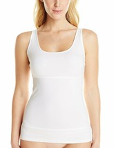 Yummie WHITE Pearl Firm Control 3-Panel Tank Top, US X-Large - $27.09