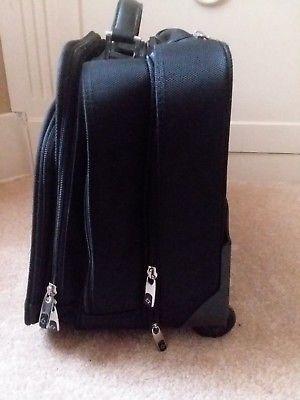 Samsonite Black Mobil Office Rolling Travel Laptop Case image 5
