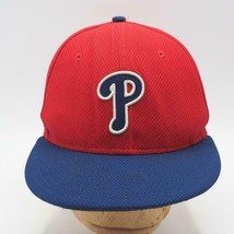New Era Philadelphia Phillies Fitted Baseball Hat 59Fifty 5950 7-3/8 - $19.79