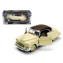 1950 Chevrolet Bel Air Cream 1/24 Diecast Model Car by Motormax 73268crm - $30.23