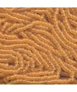 11/0 Seed Bead Rocaille Full Hank Brown 11 - $11.95