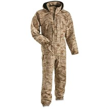 USMC Apecs Gore Tex Desert Cold Weather Lightweight Set Uniform - Medium... - $232.65