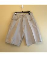 J and Co Cargo Men's Shorts Tan 15 Waist 11.5 length - $10.61