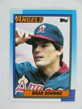 Brian Downing California Angels 1990 Topps Baseball Card Number 635 - $0.98
