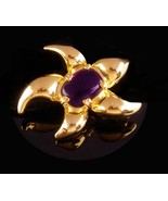 Rare Pierre Cardin  STARFISH Brooch - vintage jelly belly turtle - coutu... - $125.00
