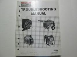 2004 Honda Generators Troubleshooting Shop Manual Factory OEM Book Used 04 - $22.93
