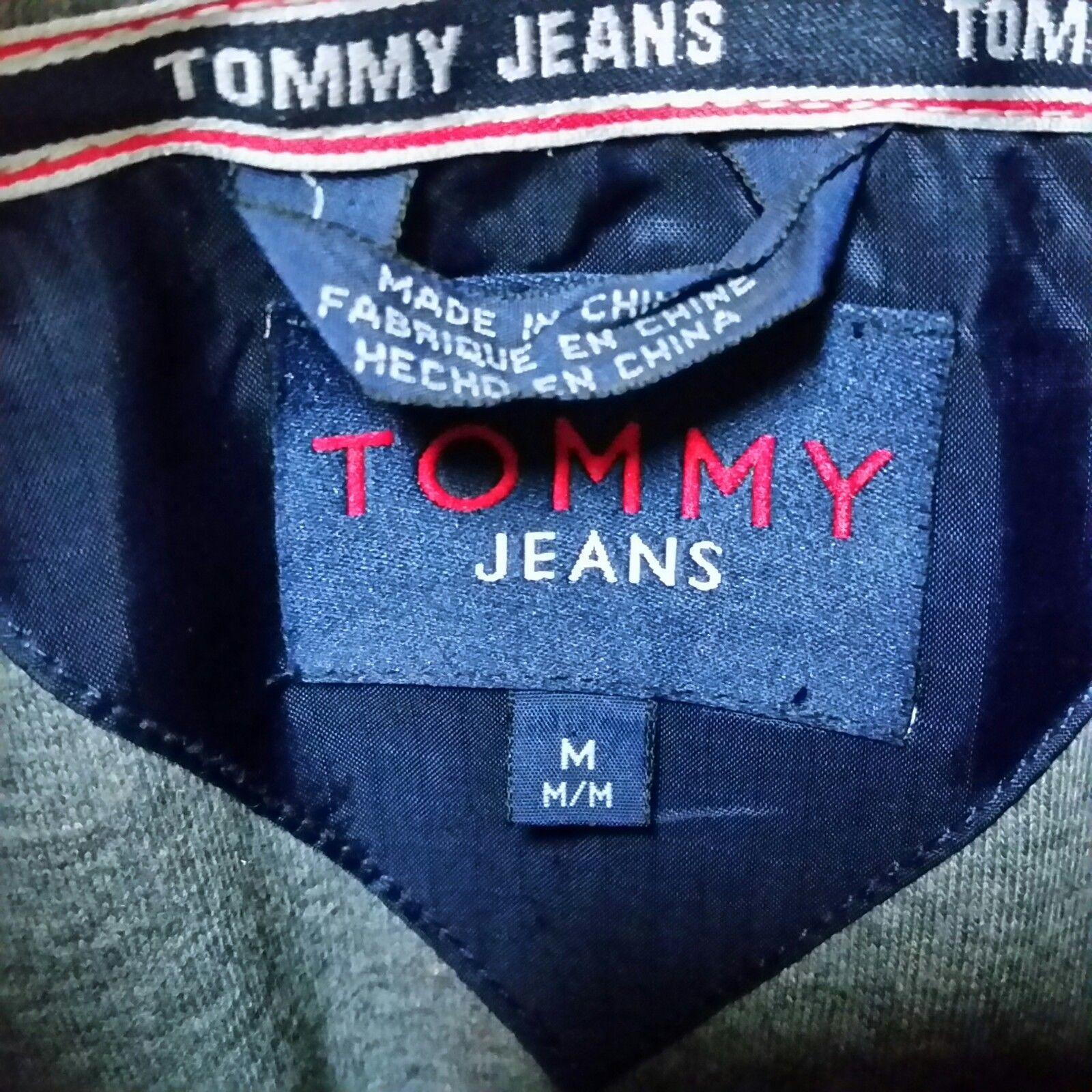 VTG 90s Tommy Hilfiger Jeans Windbreaker Jacket Colorblock Sailing Coat Medium image 9