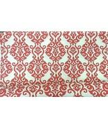"WAVERLY Sun N Shade Indoor Outdoor Fabric 54"" Wide 4.25 Yds Luminary Pea... - $33.61"