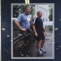 "Autograph Signed Photo President George W. Bush Frame 17""x15"" Army Veteran image 2"