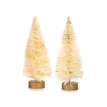 "Darice Bottle Brush Tabletop Sisal Tree - Natural Beige Tips 4""tall  2pc... - $8.95"