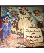 The Teddy Bär Lover's Fotoalbum Set 3 Alben in Hülle - $14.55