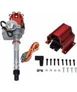 R2R Distributor 50K Volt E-Coil SBC BBC 327 350 396 454 Chevrolet Red Sm... - $108.89