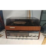 PENNCREST AM/FM Stereo Reciever by JC Penny Model #6911, Turntable #6311... - $31.05