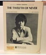 Twelfth Of Never Donny Osmond Sheet Music - $4.99