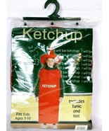 Ketchup Squeeze Bottle Kid's Halloween Costume Party Gag Fits Age 7-10 - $19.07