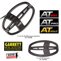 """Garrett 5"""" x 8"""" PROformance DD Submersible Searchcoil For AT PRO, AT MAX... - $138.45"""