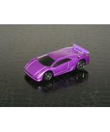 2000 MATTEL HOT WHEELS MCDONALD'S PURPLE LAMBORGHINI CAR - $3.99