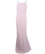 Calvin Klein Open Back Dress Halter Gown Petal Pink Evening Prom Womens ... - $97.96