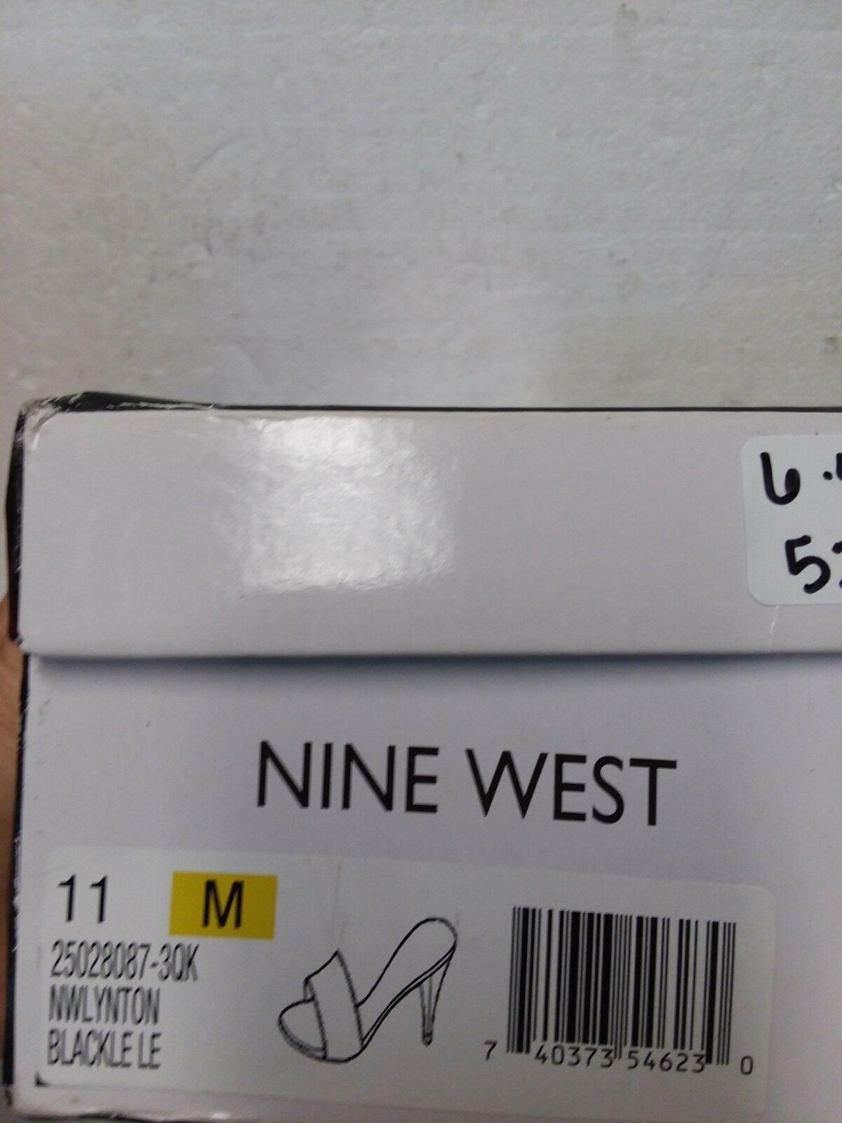 Nine West Lynton Slide Dress Sandals, Black, 11 US