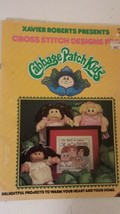 Xavier Roberts Cross Stitch Designs for Cabbage Patch Kids Plaid 7677 Book - $17.59