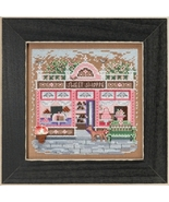 Sweet Shoppe Main Street 2018 Spring Series Buttons and Beads cross stit... - $13.50