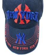 NEW YORK YANKEES ADJUSTABLE STRAPBACK CAP HAT - $18.47