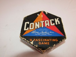 CONTACK PARKER BROTHERS SALEM MASS 1939 Game USA Complete - $4.90