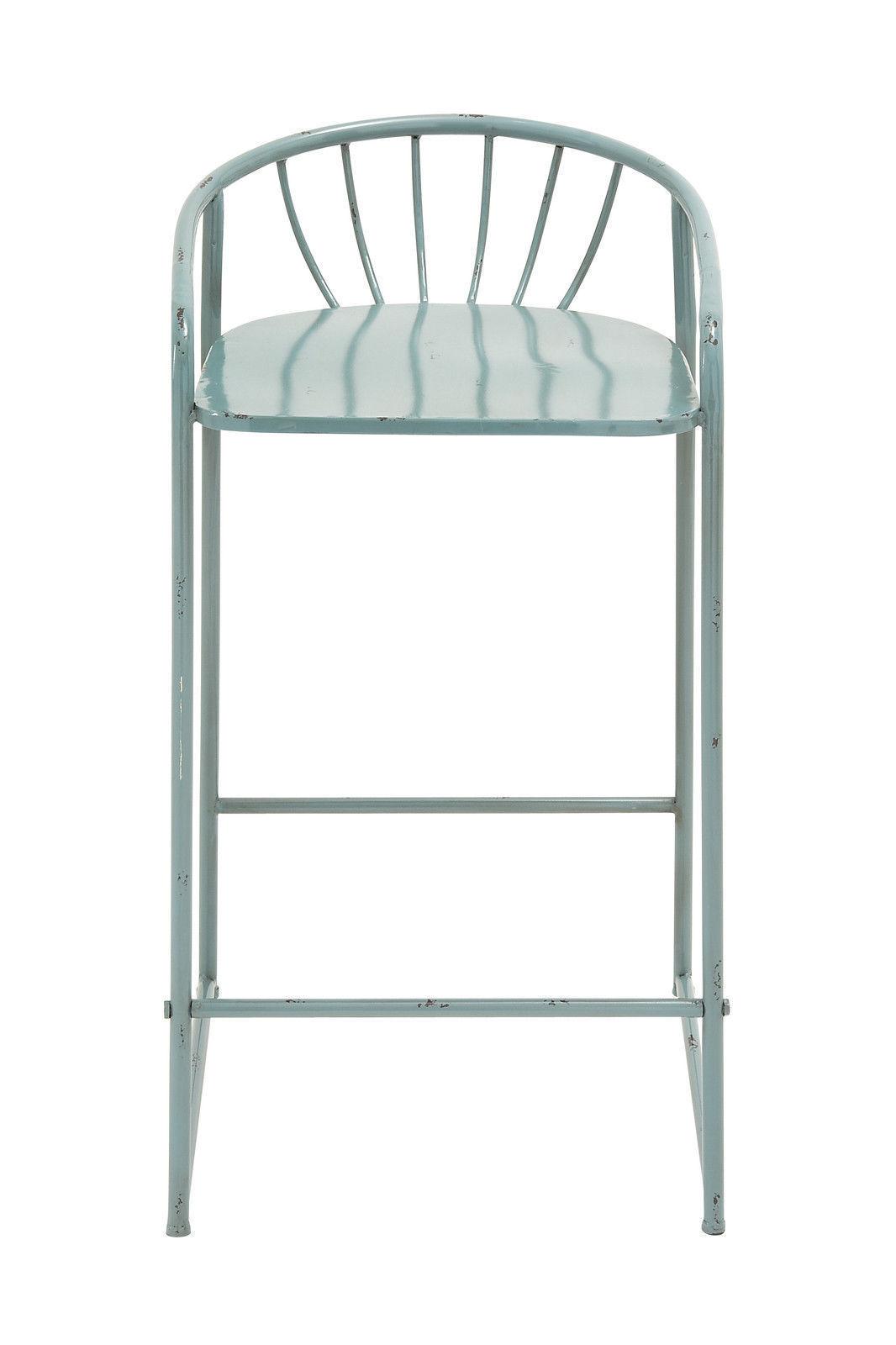 Cool Benzara 2 Most Comfortable Metal Bar Stools And 50 Similar Items Camellatalisay Diy Chair Ideas Camellatalisaycom