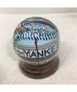 Yankee Stadium Unforgetaball 2004 Baseball MIP Printed Leather Wood Stan... - $34.65