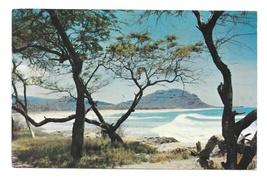 Hawaii Panorama Trees Mountains Surf Water Murray Befler Photo Vintage P... - $4.99