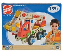 Smoby Heros - 100039085 - Jeu Construction Bois - Camion Pompier - 155 P... - $45.74
