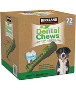 NEW Kirkland Signature Dental Chews, 72-count FREE SHIPPING - $54.99