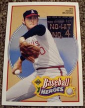 1990 Upper Deck Nolan Ryan # 12 MLB Baseball Heroes Card - $7.99