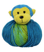 """DMC Top This! Yarn-Monkey, Set Of 4"" - ₨1,774.44 INR"