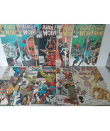 KITTY & WOLVERINE + X-MEN: STAR JAMMERS, ALPHA FLIGHT, HEROES FOR HOPE, ... - $18.70