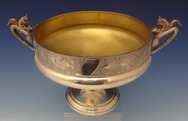 Whiting Sterling Silver Master Nut Bowl On Pedestal w/3-D Squirrels (#0744) - $6,255.00