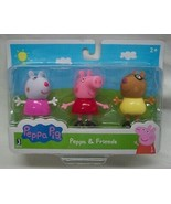Peppa & Friends PEPPA PIG, SUZY SHEEP & PEDRO PONY Plastic Toy FIGURES S... - $14.85