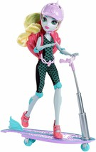 Monster High Surf-To-Turf Scooter Vehicle with Lagoona Blue Doll - $33.85