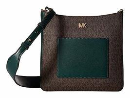Michael Kors Gloria Pocket Swing Pack Crossbody Bag, Racing Green