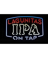 "New Lagunitas Ipa On Tap Beer Neon Sign 24""x20"" Poster Light - $186.99"