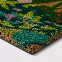 """1'6"""" x 2'6"""" Floral Vacation Tropical Rectangle Shape Door Mat Green Opalhouse  image 2"""
